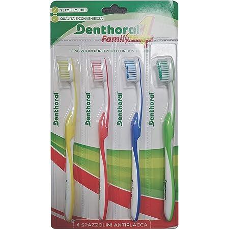 Denthoral Spazzolini 4Family, 4 Pezzi