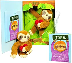 Get Well Gifts - Feel Like a Sloth? Hang in There! Get Well Soon Gift for Women, Kids, Men, Teens. Plush Sloth and Top 10 Things to Do When You Feel Like a Sloth in Gift Box. Great for After Surgery.