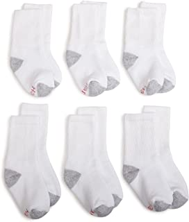 Hanes Ultimate Boys' 6-Pack Crew Socks