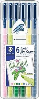 Triplus Color 323 – Staedtler Box of 6 Felt-Tip Pens Medium Tip 1 mm Assorted Colours – My Botanical Colours