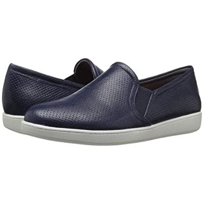 Trotters Americana (Navy Soft Leather) Women