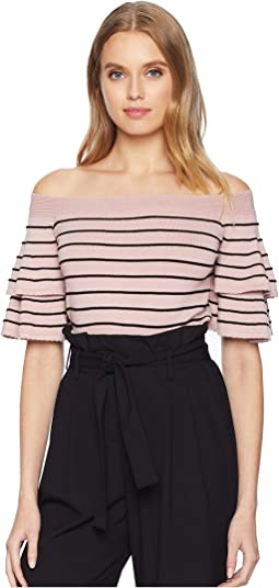 P.Y.T. Off the Shoulder Sweater