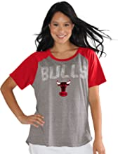 Touch by Alyssa Milano NBA Chicago Bulls Conference Tee Plus, 3X, Heather Grey