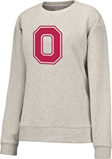 NCAA Women's Reverse French Terry Crew Sweatshirt