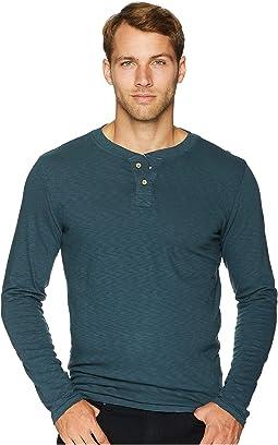 Garment Dyed Slub Henley
