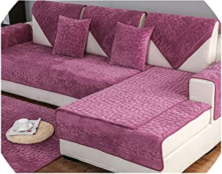 Sofa Cover3D Stone Pattern Sofa Cover Towel Slipcover Plush Fabric Thick Sofa Modern Non-Slip Sofa Couch Cover Corner Towel Mats 1Pcs,1Pcs Sofa Towel5,70X70Cm 1Pc