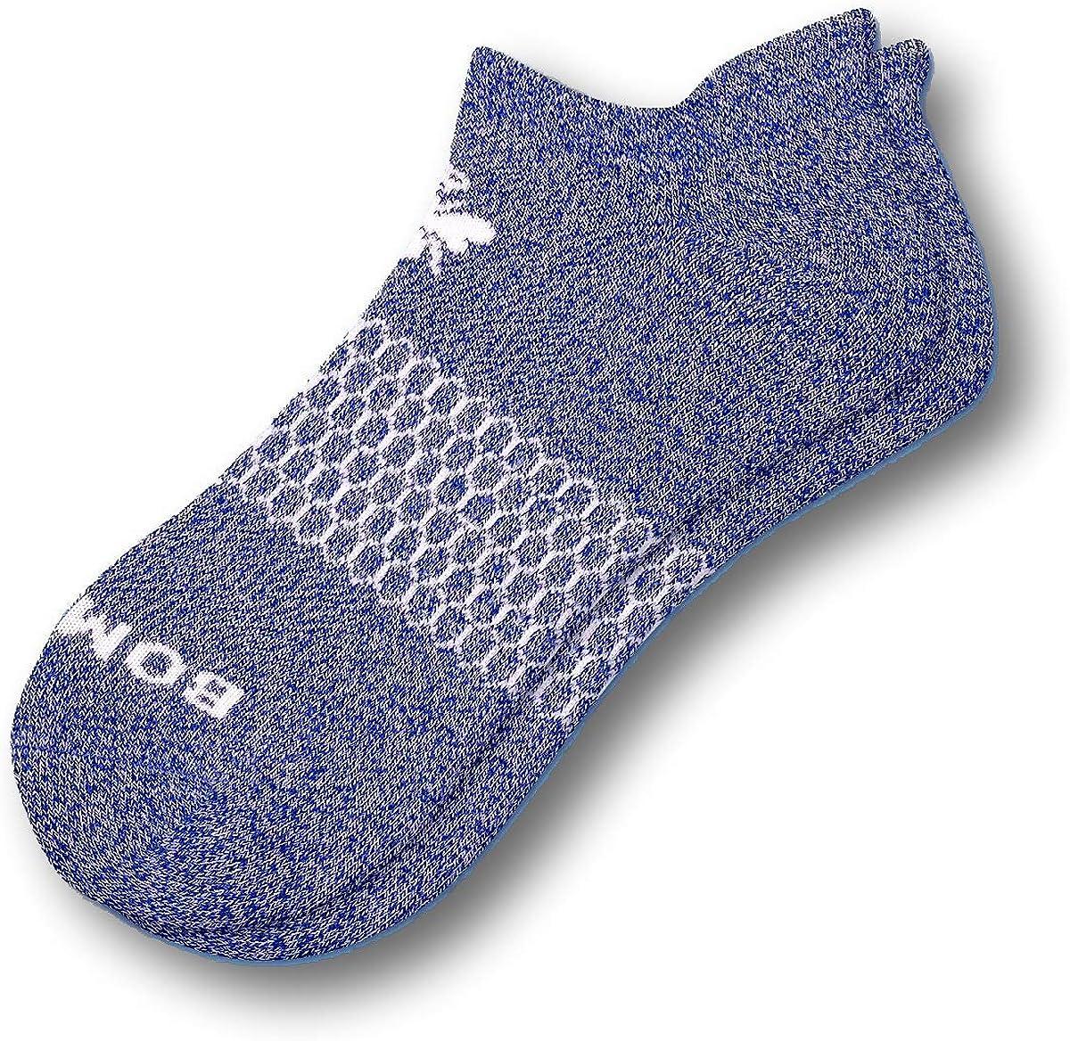 Bombas Women's Casual Classic Marls Ankle Socks Violet Medium