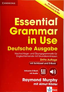 Essential Grammar in Use Book with Answers and Interactive eBook German Klett Edition