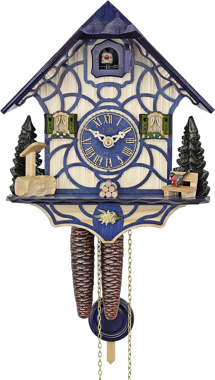 HerrZeit by Adolf New product Herr Cuckoo Sale Magic Clock - Blue