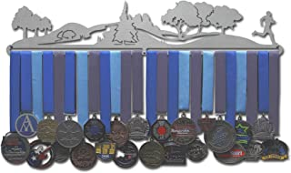 Allied Medal Hangers - Trailscape - Male or Female Runner - Multiple Size Options Available - Sports Awards Holder Display Hanger Rack
