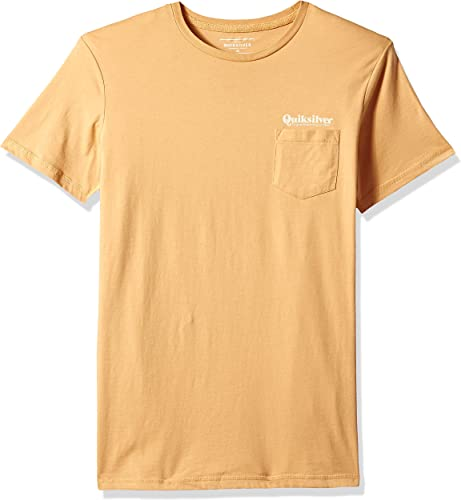 Quikargent - - T-Shirt Finelinepocket pour Hommes, grand, Taffy