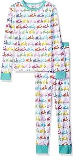 Girls' Big Organic Cotton 2-Piece Long Sleeve Dreamwear...
