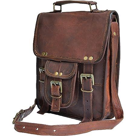 Blue Bag Leather Shoulder Bag Leather Bag Gift Men/'s Leather Bag Men/'s Bag Tablet Bag Messenger Bag