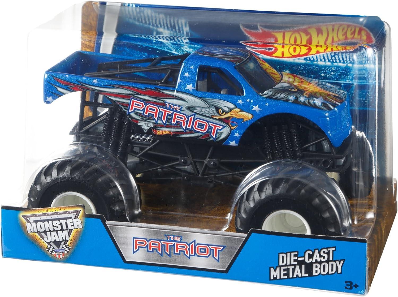 garantía de crédito Hot Hot Hot Wheels Monster Jam 1 24 Patriot by Hot Wheels  el más barato