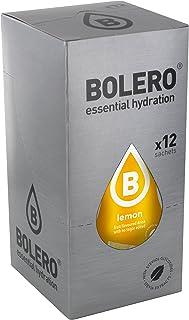 comprar comparacion Bolero Bebida Instantánea sin Azúcar, Sabor Limón - Paquete de 12 x 9 gr - Total: 108 gr