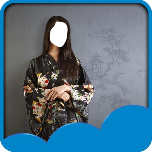 Kimono japonais Photo Montage
