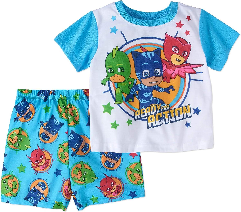 PJMASKS PJ Masks Boy 2 PC Set Short Multicolor Sleeve Siz Many popular brands Pajama Price reduction