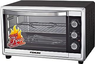 نيكاي فرن كهربائي لطهي الطعام بسعة 45 لتر ، اسود ، NT655N1