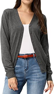v neck cardigan sweater womens