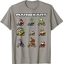 Nintendo Mario Kart Racers Ready Line-Up Graphic T-Shirt