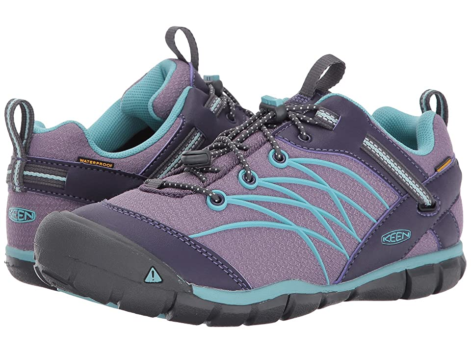 Keen Kids Chandler CNX WP (Little Kid/Big Kid) (Montana Grape/Aqua Haze) Girls Shoes