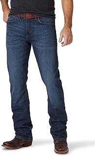 Wrangler Men's 20X No. 42 Stockyard Stretch Slim Bootcut Jeans Blue 30W x 32L