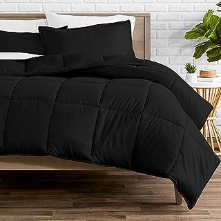 Bare Home Comforter Set - Queen Size - Goose Down Alternative - Ultra-Soft - Premium 1800 Series - All Season Warmth (Quee...