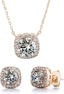 Best earring and necklace set gold Reviews