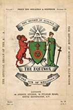 The Equinox: Keep Silence Edition, Vol. 1, No. 9