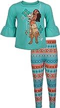 Disney Moana Toddler Girls' 2-Piece Long-Sleeve Top & Leggings Set