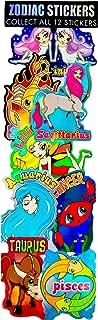 Zodiac Prismatic Stickers for Vending Machine, Parties: 2 Boxes (600 Count)