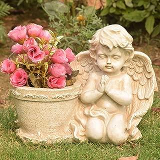 Wonderland Praying Angel/Cherub with Pot (Planter, pots, Home Decor, Gift, Gifting)