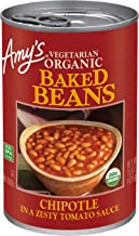 Amy's Organic Baked Beans, Chipotle, 15 Ounce (Pack of 12)