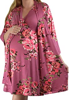Embrace Your Bump 2 in 1 Super Soft Maternity & Nursing...