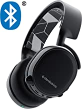SteelSeries 61485 Arctis Bluetooth All-Platform Gaming Headset for Nintendo Switch, PC, PlayStation 4, Xbox One, VR, Android and iOS - Black (Renewed)