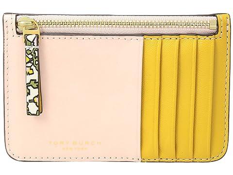 Ivory cremallera Pansy tarjetas para Top Estuche Burch Block con Color Tory Wild fnRgBq