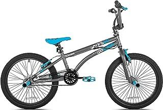 X Games FS20 Single Speed 20 Inch Wheel Freestyle Trick BMX Bike, Dark Grey