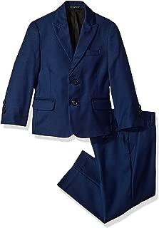 Calvin Klein Big Boys' Two Piece Suit Set, Infinite Blue, 16