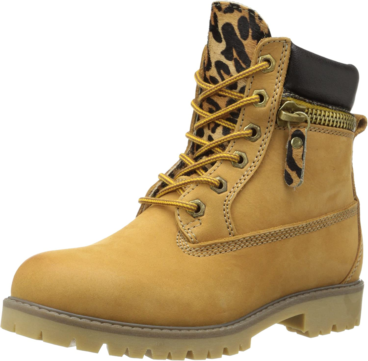 Bronx Women's Yippy Zippy Combat Boot