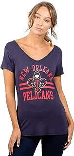 Ultra Game NBA Women's Relaxed Short Sleeve Tee Shirt