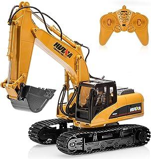 ラジコン ショベルカー15CH掘削機 合金強化版 2.4Gパワーショベル ラジコン 重機RC建設トラクター車の おもちゃショベルカー おもちゃ