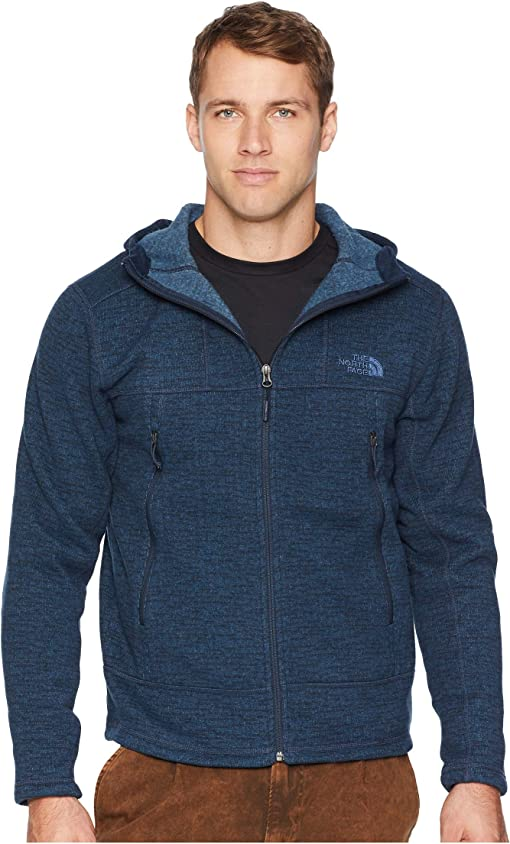 Urban Navy Sweater Texture Print
