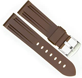 Best panerai brown rubber strap Reviews