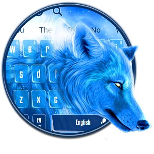 Neon Wild Wolf Theme