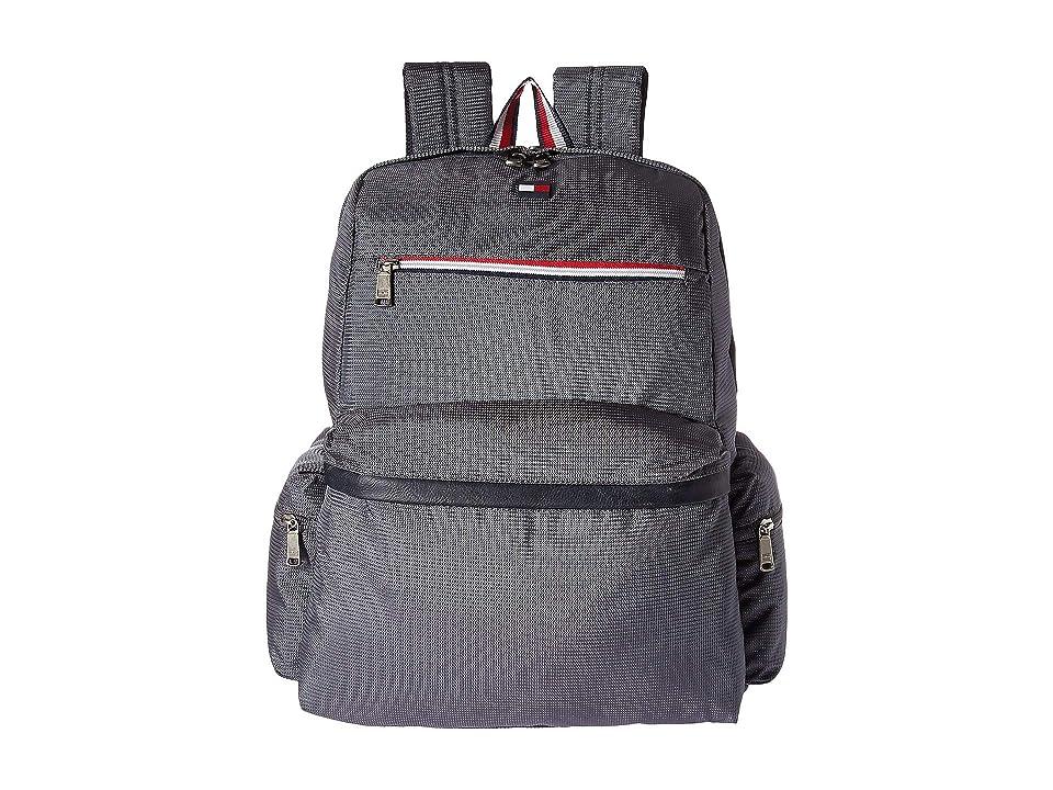 Tommy Hilfiger Lenox Hill Backpack (Steel) Backpack Bags