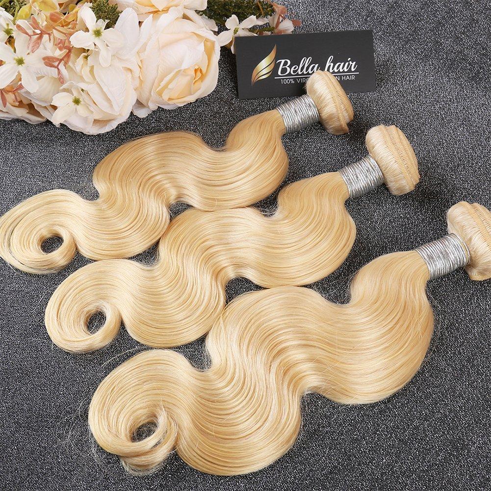Bella Hair 613 Remy Virgin Weave Max 57% OFF Human Russian Finally popular brand Blonde Huma