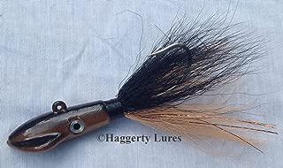 Haggerty Squid Bucktail Jig - New Penny - Hair Jig- 1/2 oz to 6 oz - Fluke Striper Flounder Bass