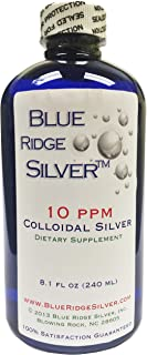 Blue Ridge Silver 10 ppm Colloidal Silver, 8 oz.