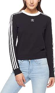 Adidas Women's 3-Stripes Long Sleeve T-Shirt