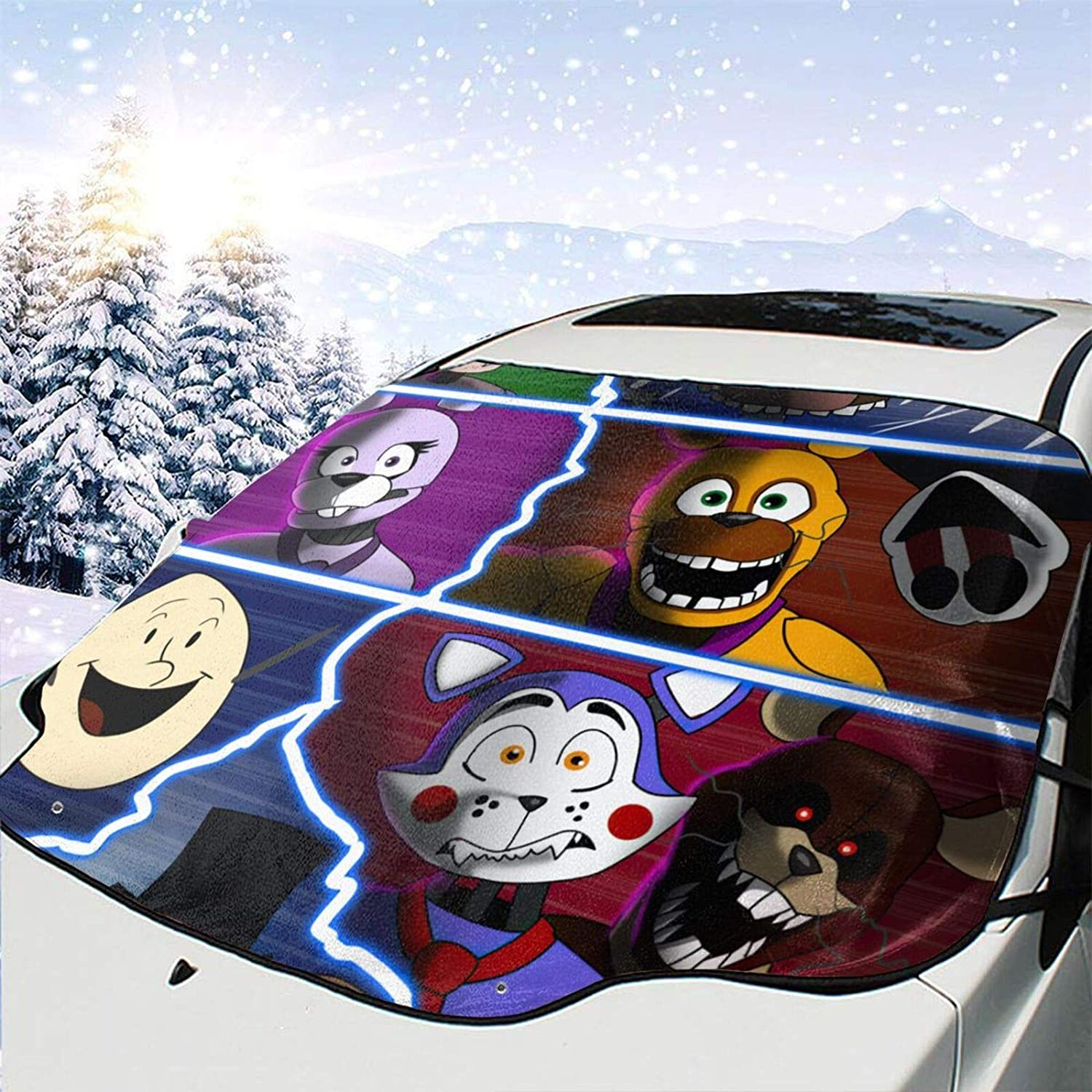 AMYHERFORD Nights Ranking integrated 1st place at Fressy Windshield Wind Cover Visor Car Snow depot